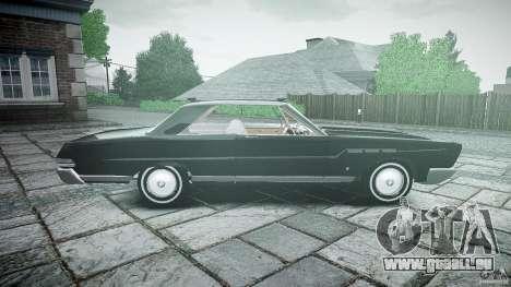 Ford Mercury Comet Caliente Sedan 1965 pour GTA 4 est une gauche