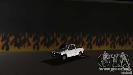SeAZ Pickup pour GTA Vice City sur la vue arrière gauche