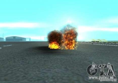 Neue Auswirkungen von Explosionen für GTA San Andreas fünften Screenshot