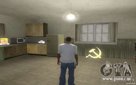 Marteau et la faucille pour GTA San Andreas deuxième écran