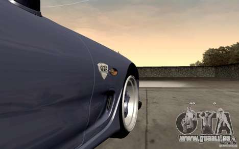 Mazda RX-7 Hellalush pour GTA San Andreas vue intérieure