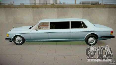 Rolls-Royce Silver Spirit 1990 Limo für GTA San Andreas linke Ansicht