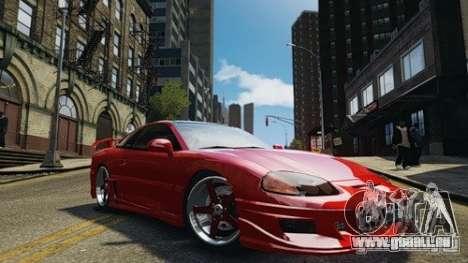 Dodge Stealth Turbo RT 1996 für GTA 4 hinten links Ansicht