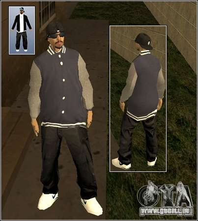 Skin Pack Getto für GTA San Andreas zweiten Screenshot