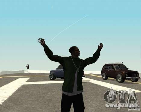 Animation différente pour GTA San Andreas troisième écran