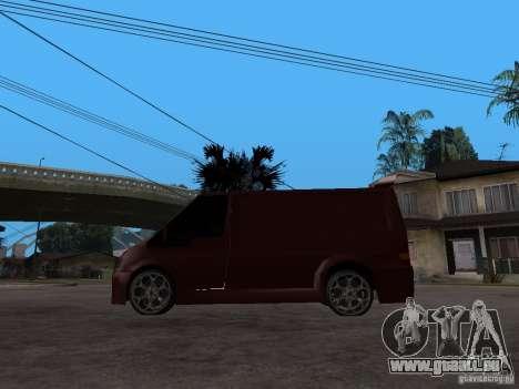 Ford Transit Tuning pour GTA San Andreas laissé vue
