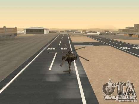 Mil Mi-28 für GTA San Andreas Seitenansicht