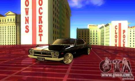 Nissan Skyline 2000-GTR pour GTA San Andreas