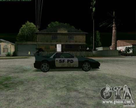 Supergt - Police S für GTA San Andreas zurück linke Ansicht