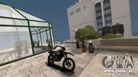 Yamaha YZFM 450 Monster Energy pour GTA 4