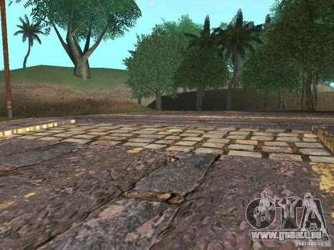 Construction de nouvelles routes en Vajnvude pour GTA San Andreas sixième écran
