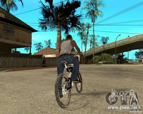 Diamondback strike Beta pour GTA San Andreas sur la vue arrière gauche