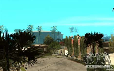 New Grove Street TADO edition pour GTA San Andreas cinquième écran