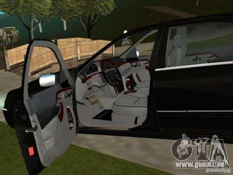 Mercedes-Benz S600 Biturbo 2003 v2 pour GTA San Andreas vue arrière