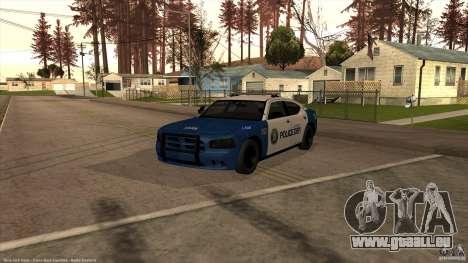 Dodge Charger Los-Santos Police für GTA San Andreas