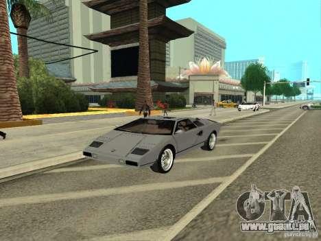 Lamborghini Countach LP400 pour GTA San Andreas