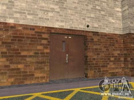 Le nouveau garage souterrain par la police à Los pour GTA San Andreas deuxième écran