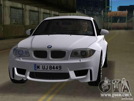 BMW 1M Coupe RHD für GTA Vice City linke Ansicht