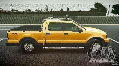 Ford F150 FX4 OffRoad v1.0 pour GTA 4 est une vue de l'intérieur