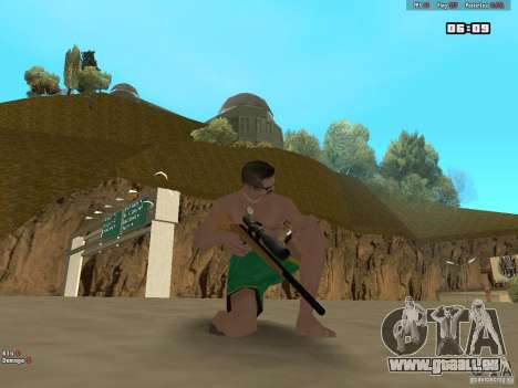 Weapon Pack V1.0 für GTA San Andreas dritten Screenshot
