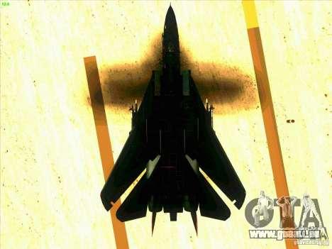 F-14 Tomcat Razgriz pour GTA San Andreas salon