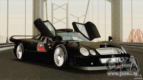 Mercedes-Benz CLK GTR Race Road Version Stock für GTA San Andreas Seitenansicht