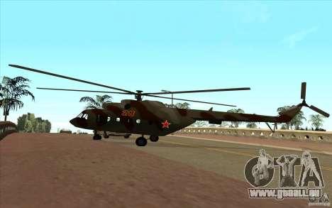 Militaires MI-17 pour GTA San Andreas