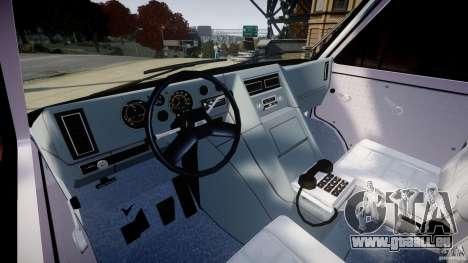 GMC Van G-15 1983 The A-Team pour GTA 4 est un côté