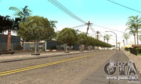 Grove Street 2012 V1.0 pour GTA San Andreas deuxième écran