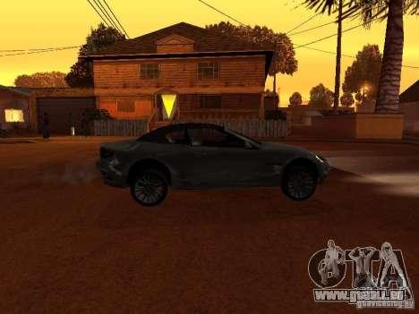 Maserati Granturismo S für GTA San Andreas linke Ansicht