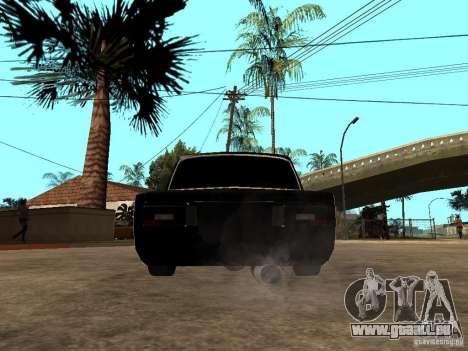 VAZ 2106 Tuning Licht für GTA San Andreas zurück linke Ansicht