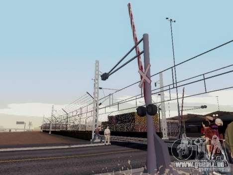 BAHNÜBERGANG RUS V 2.0 für GTA San Andreas zweiten Screenshot