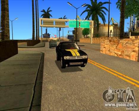 Cadre magnifique ENBSeries pour GTA San Andreas huitième écran