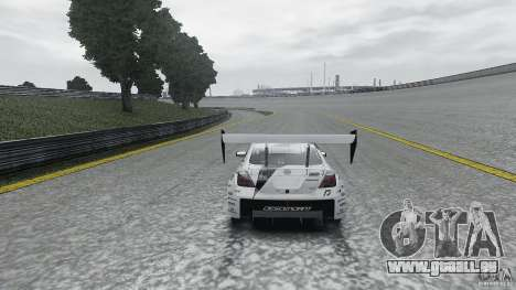 Toyota Team NFS AWD Scion tC für GTA 4 Rückansicht