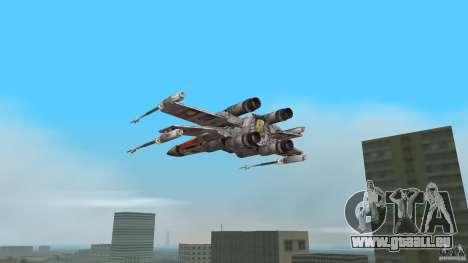 X-Wing Skimmer für GTA Vice City linke Ansicht