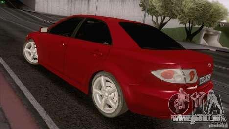 Mazda 6 2006 pour GTA San Andreas vue arrière