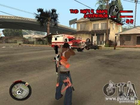 Hud by Dam1k pour GTA San Andreas deuxième écran