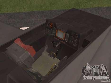 F302 pour GTA San Andreas vue intérieure