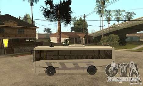 LAZ 42078 (liner-10) pour GTA San Andreas laissé vue