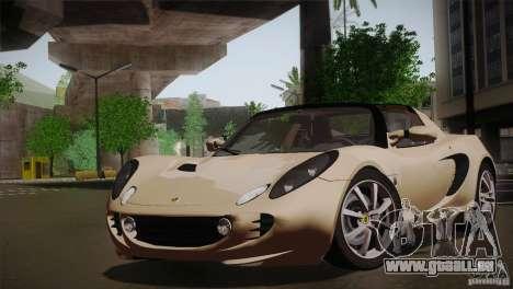 Lotus Elise 111s 2005 v1.0 für GTA San Andreas linke Ansicht