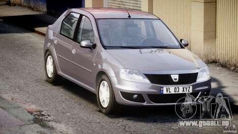 Dacia Logan v1.0 für GTA 4 Innenansicht