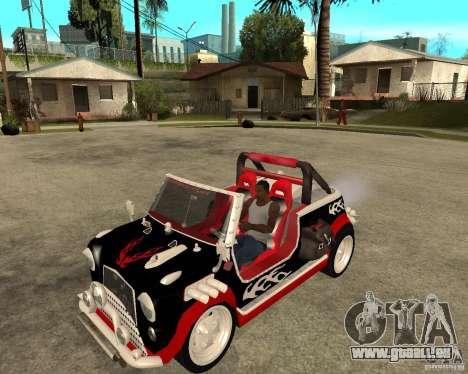 MiniCooper Tuning HOVADO 1 (MaxiPervers.cz) v.2 pour GTA San Andreas