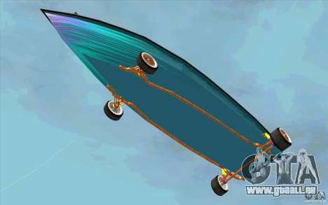 Hot-Boat-Rot für GTA San Andreas Innenansicht