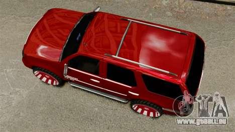 Cadillac Escalade 2011 DUB pour GTA 4 est un droit