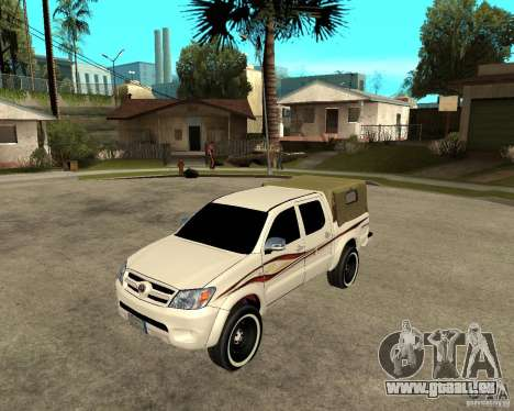 Toyota Hilux 2010 für GTA San Andreas