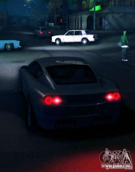 IVLM 2.0 TEST №5 pour GTA San Andreas troisième écran