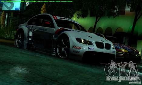 SA_gline 4.0 pour GTA San Andreas cinquième écran