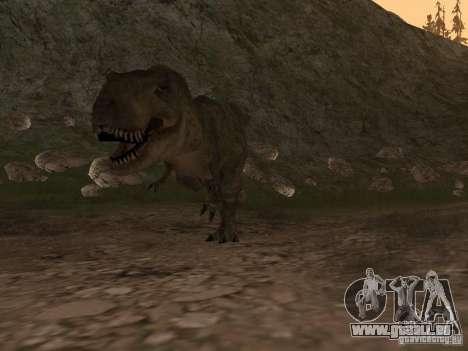 Dinosaurs Attack mod für GTA San Andreas dritten Screenshot