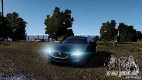 Jaguar XJ 2012 pour GTA 4 Salon
