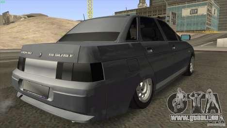 VAZ 2110 Dag pour GTA San Andreas vue de droite